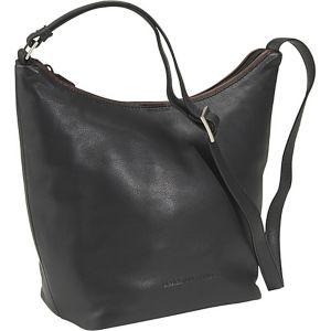 Top Zip Bucket Bag