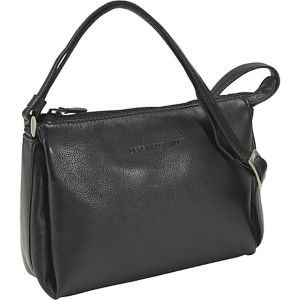 East West Top Zip With Three Compartments