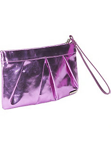 Metallic Foil Clutch by Bisadora