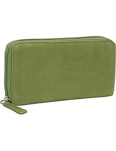 Cashmere Zipper Clutch Wallet by Osgoode Marley