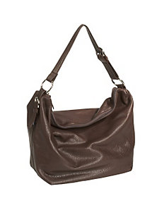 Cashmere Handbag Collection Zip Top Floppy Bag by Osgoode Marley