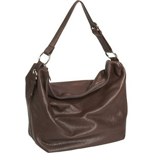 Cashmere Handbag Collection Zip Top Floppy Bag