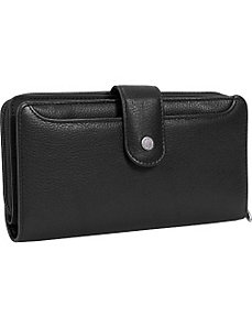 Hudson Checkbook Wallet by Buxton