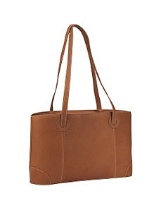 Large Leather Working Laptop Tote by Piel