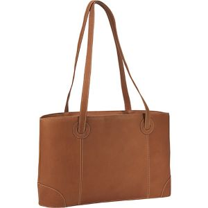 Large Leather Working Laptop Tote