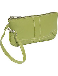 Ladies Wristlet Bag by Piel