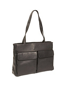 Tuscan Leather Laptop Tote by Clava