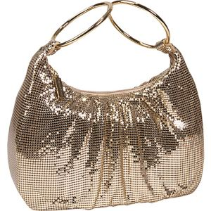 Mesh Double Hoop Hobo
