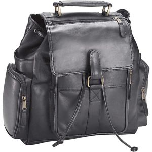 Vachetta Leather Urban Survival Backpack