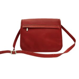 Flap-Over Zippered Bag