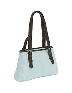 Medium Buckle Handbag by Piel