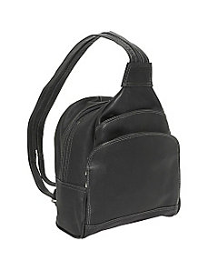 Three-Pocket Sling Bag by Piel