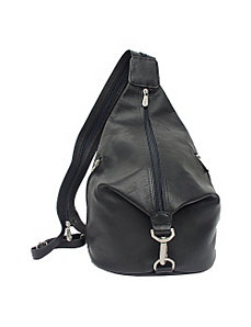 Three-Zip Hobo Sling by Piel