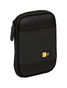 Compact Portable Hard Drive Case by Case Logic