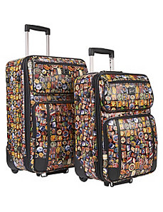 Vintage Hotel 2-Piece Luggage Set by Sydney Love