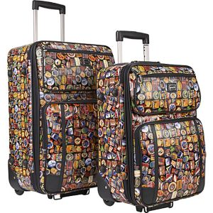 Vintage Hotel 2-Piece Luggage Set