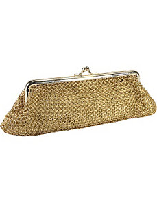 Mini Metal Mesh Clutch by Whiting and Davis