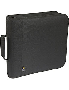 208 Capacity Nylon CD / DVD Wallet by Case Logic