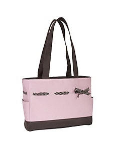 Strawberry Truffle Diaper Tote Set by JP Lizzy