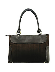 Business Zip-Top Casual Computer Tote by Traveler's Choice