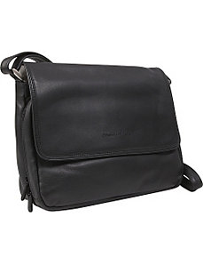 Three Quarter Front Flap Handbag by Derek Alexander Leather