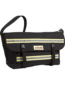 Reflective Bike Messenger Bag- Large by Manhattan Portage