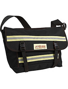 Reflective Bike Messenger Bag- Medium by Manhattan Portage