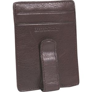 Cashmere ID Front Wallet Pocket Clip Wallet