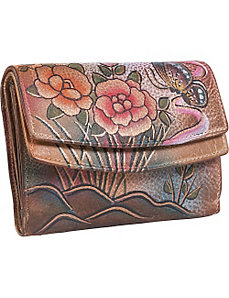 Wallet on a String - Premium Rose Antique by Anuschka