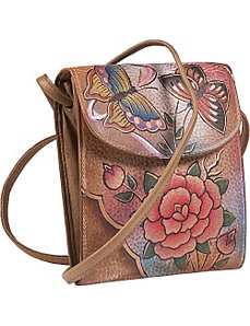 Hanging French Purse - Premium Rose Antique by Anuschka