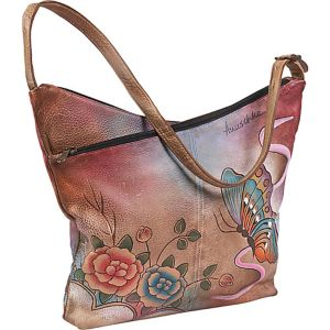 V-Top Hobo - Premium Rose Antique