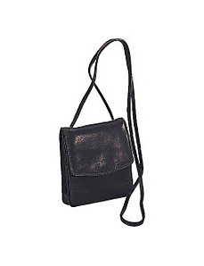 Complete Small Wallet w/ Shoulder Strap or Belt Loop by Derek Alexander Leather