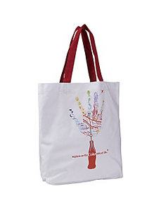 Coke Hand Canvas Tote by Ashley M