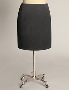 Classic Pencil Skirt in Charcoal by Eliza Parker