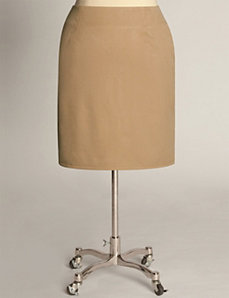 Classic Pencil Skirt in Camel by Eliza Parker