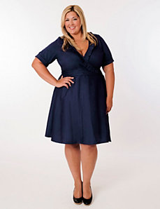 Newport Dress in Navy by Eliza Parker
