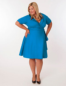 Newport Dress in Turquoise by Eliza Parker