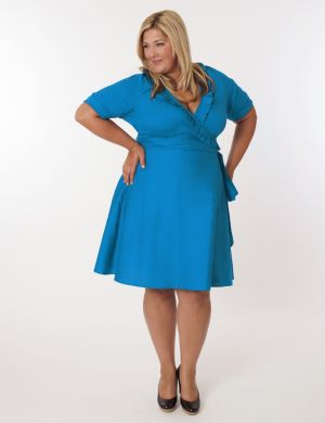 Newport Dress in Turquoise