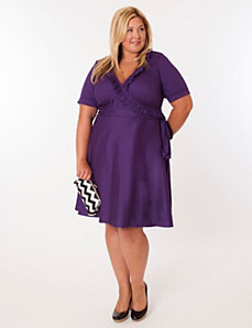 Newport Dress in Purple by Eliza Parker