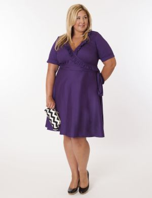 Newport Dress in Purple