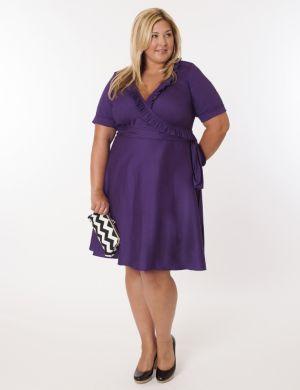 Newport Dress in Purple
