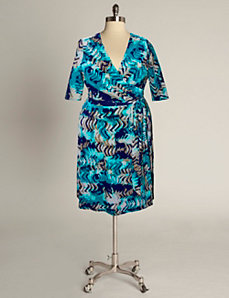 Rio Dress in Teal Print by Eliza Parker
