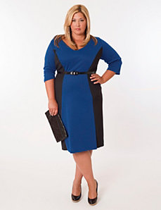 Madrid Dress Royal and Black by Eliza Parker