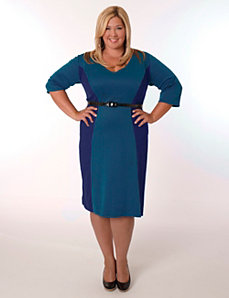 Madrid Dress Royal and Teal by Eliza Parker