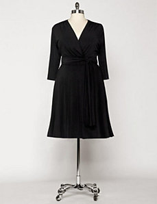Venice Dress in Black by Eliza Parker