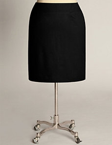 Classic Pencil Skirt in Black by Eliza Parker