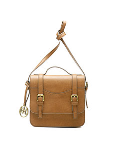Jane Top Handle Flap Messenger Bag by Emilie M