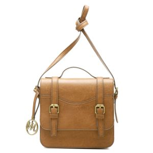 Jane Top Handle Flap Messenger Bag