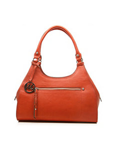 Breana Double Shoulder Satchel by Emilie M