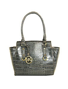 Kimberley Croco Small Satchel by Emilie M